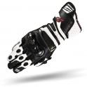 Rękawice motocyklowe SHIMA RS-1 Białe
