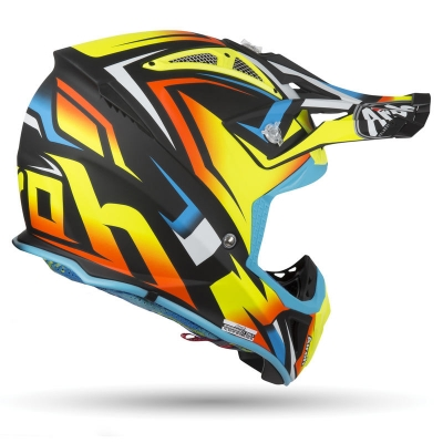 Kask Airoh Aviator 2.3 AMSS Fame Yellow Gloss