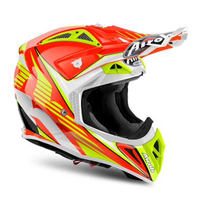 Kask Airoh Aviator 2.2 Double Orange Gloss