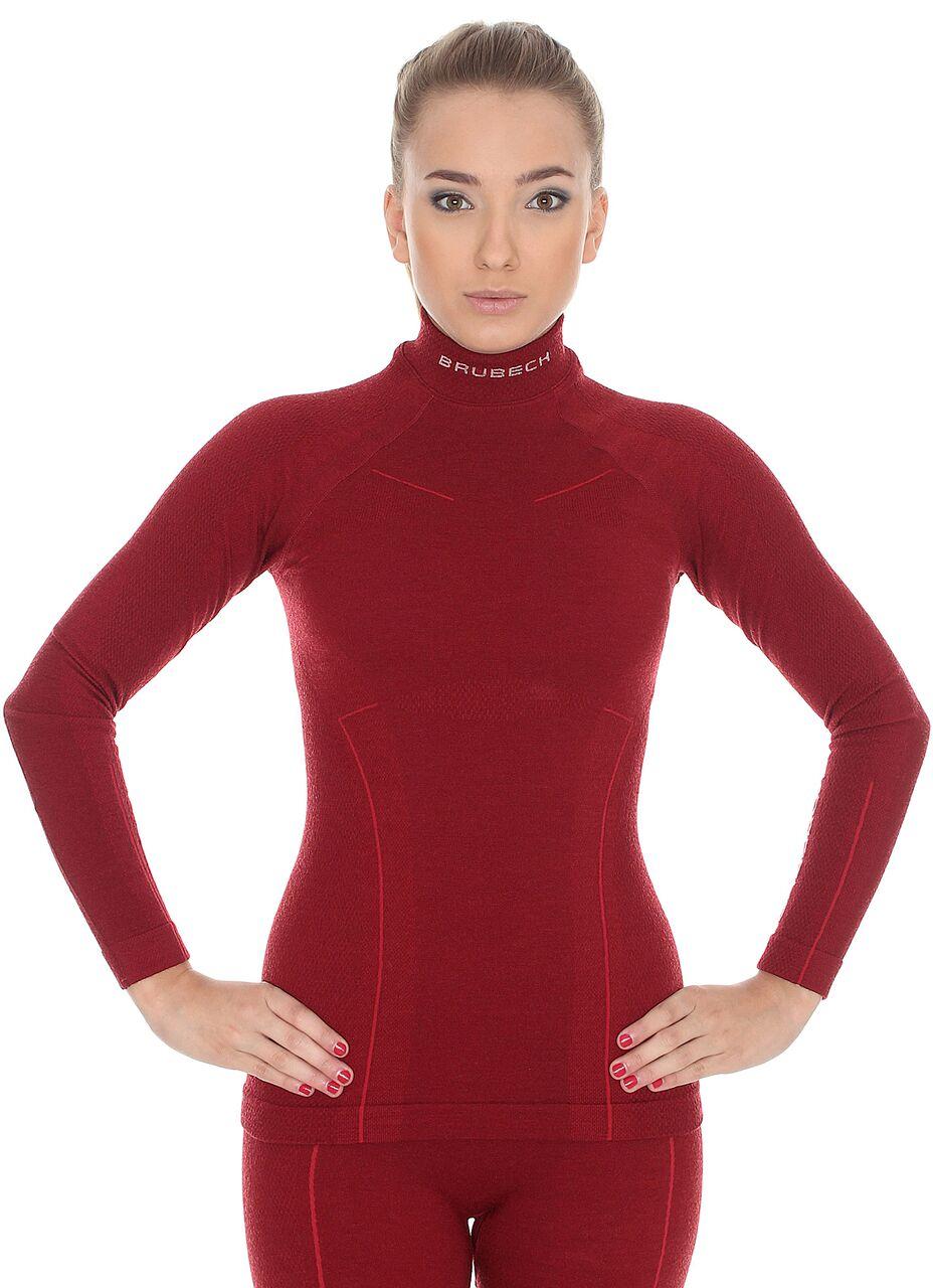 a9ea284bf Bluza Termoaktywna Damska Brubeck Extreme Wool Burgund : opinie i ...