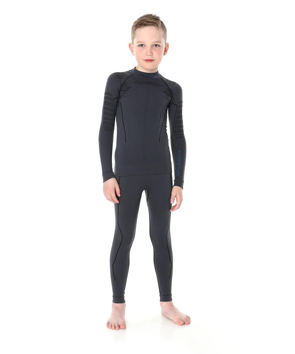 50a56f8580a47e Spodnie termoaktywne męskie Brubeck Thermo Junior szare : opinie i ...