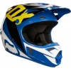 Kask Fox V1 Race Blue