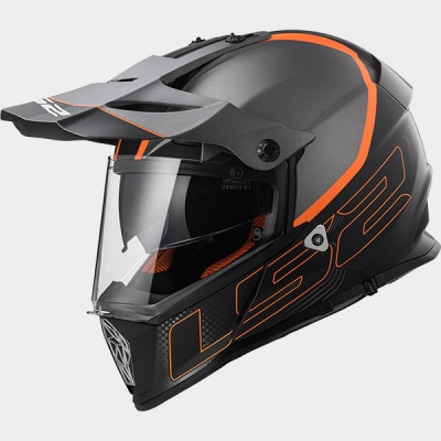 Kask LS2 MX436 Pioneer Element Titanium