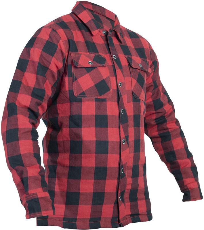 Koszula motocyklowa RST Lumberjack aramid CE red : opinie i