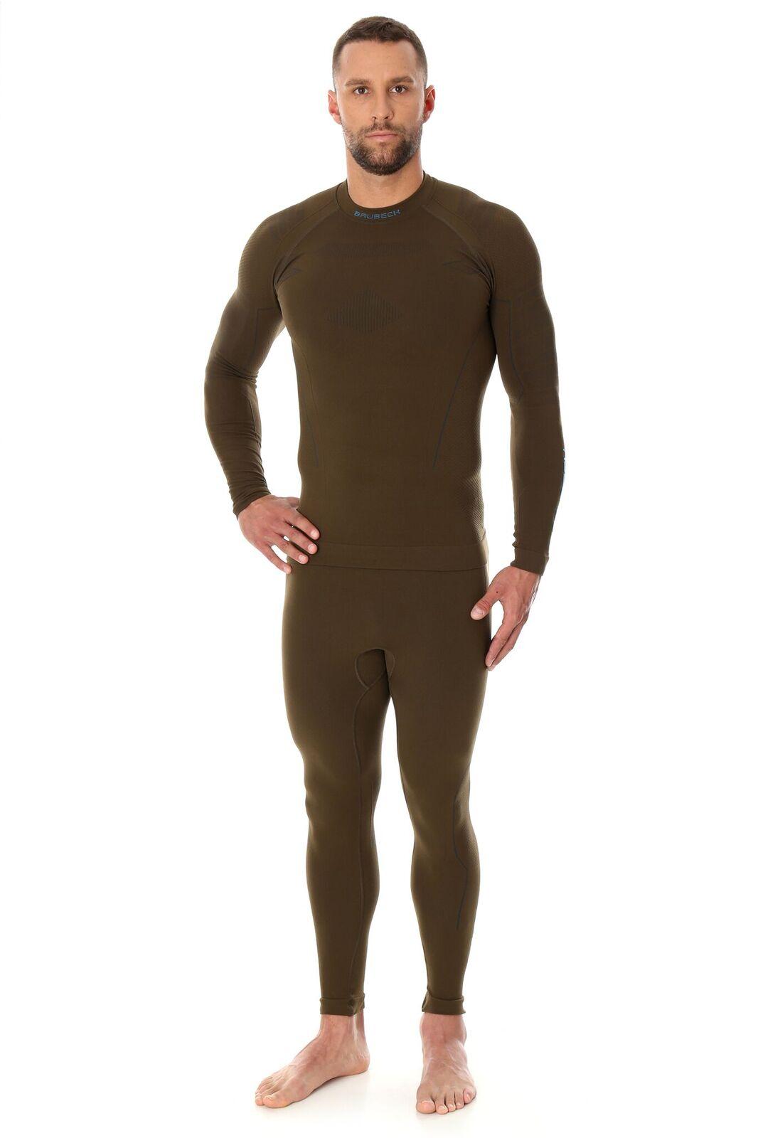 45423548cb2796 Spodnie Termoaktywne Brubeck Thermo Męskie Khaki : opinie i cena ...